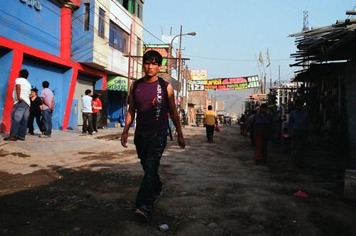 En las afueras de Lima. Foto: Timo Berger